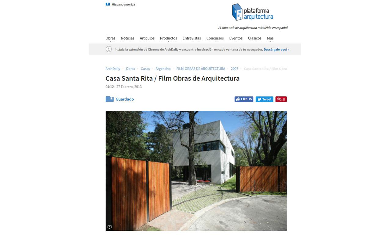 2013.02.27 Plataforma Arquitectura